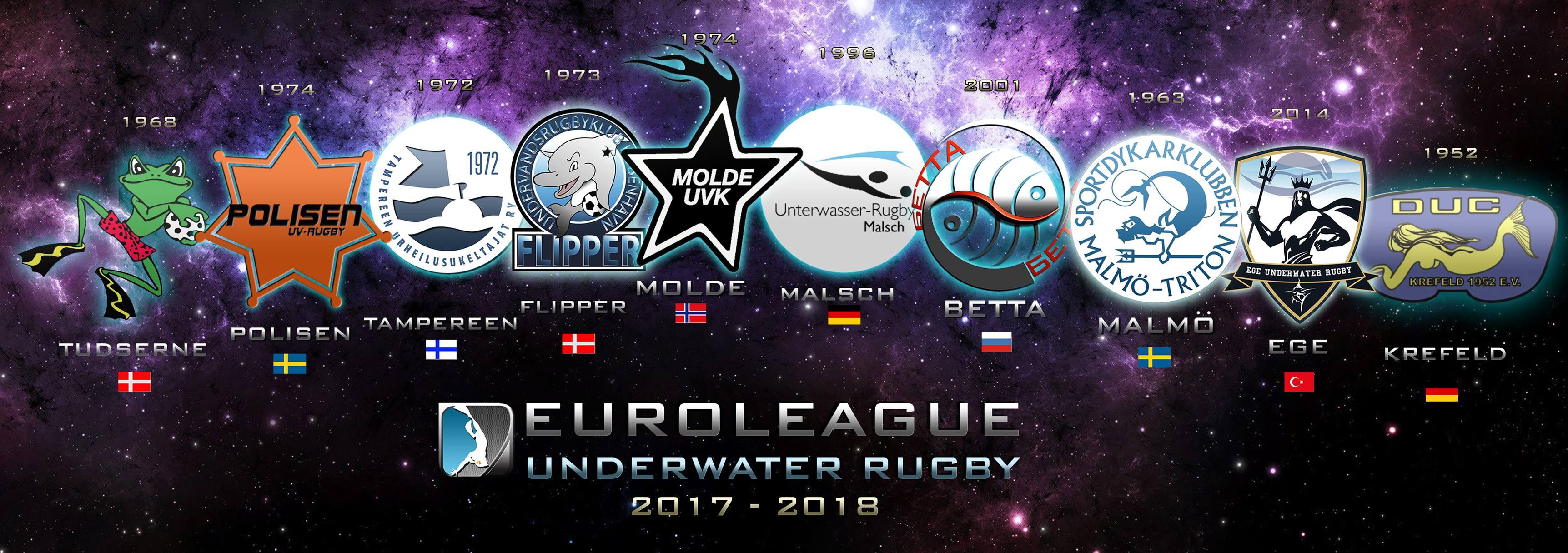 European Underwaterrugby League Season 6 – Livestream