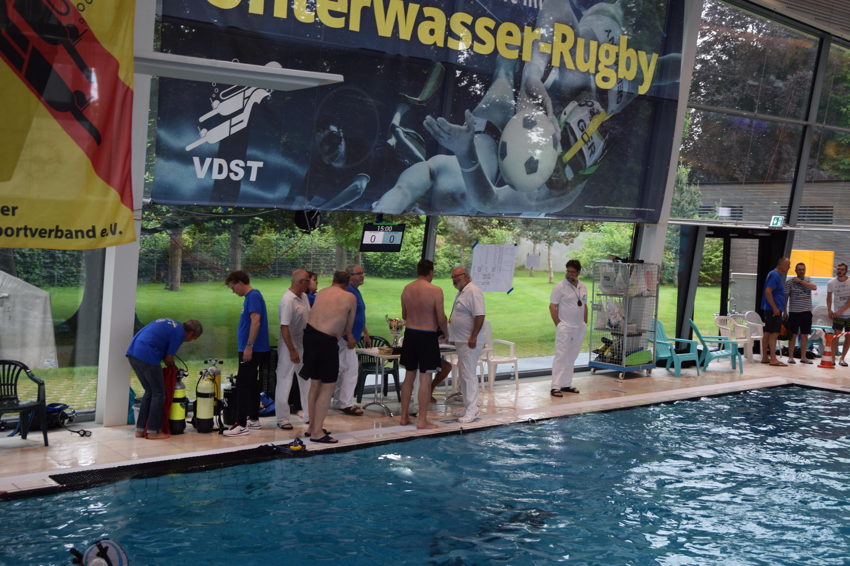 Deutsche Unterwasser Rugby Meisterschaft in Offenburg